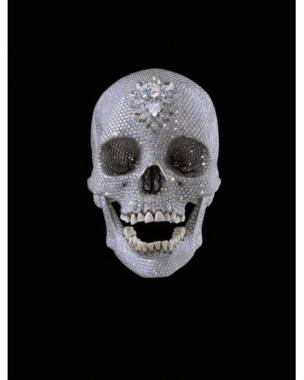 'For the Love of God' (2007), Damien Hirst