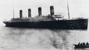 泰坦尼克号启航