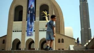 احتفال المسيحيين بمصر