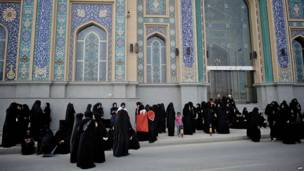 Протесты женщин в Бахрейне
