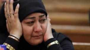 والدة إحدى الضحايا