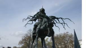 Статуя Чингисхана.