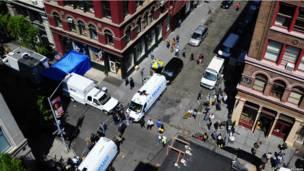 Поиски пропавшего мальчика в Нью-Йорке