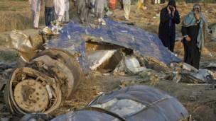 طیارہ حادثے کے بعد