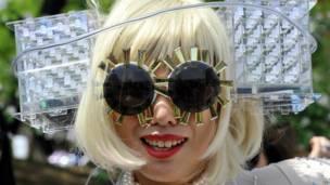 Японская поклонница певицы Леди Гага