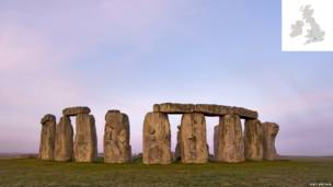 Stonehenge, Wiltshire (Foto VisitBritain.com)