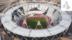 Chuẩn bị rước đuốc Olympics 2012