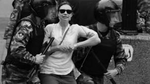 Протесты в Москве. Фото: bismor