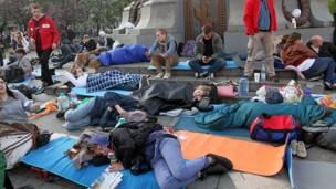 Протесты в Москве. Фото: nl