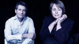 Sebastian Coe e Tanni Grey Thomp  (Foto: Rankin / Inspired by Sport)
