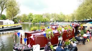 伦敦运河船队节