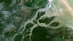 Río Amazonas Foto SPL/Barcroft Media.