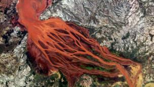 Río Betsiboka Foto SPL/Barcroft Media.