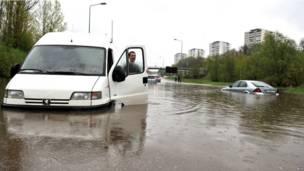Наводнение в Таллине