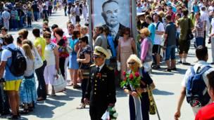 9 мая в Севастополе. Фото: life_as_lens
