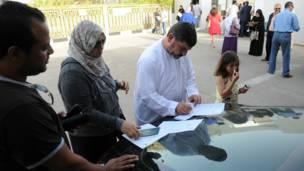 تصويت في أبوظبي
