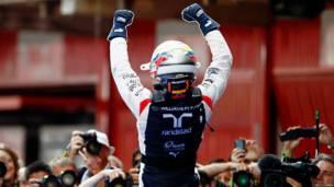Victoria de Pastor Maldonado en F1