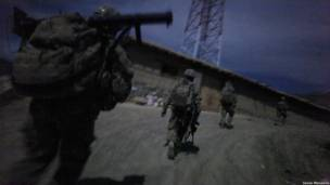 Afghan night patrol