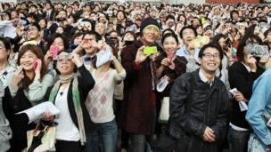 Зрители в Токио