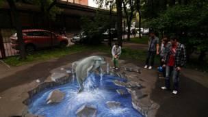 Фестиваль 3D-граффити в Москве. Фото: Егор Савинцев