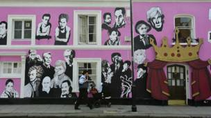 Mural by artist Tony Common