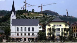 استنساخ قرية نمساوية في الصين