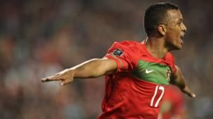 Umukinyi wo hagati wa Manchester United na Portugal Nani