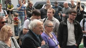 Сторонники Алексея Навального