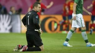 Thủ môn đội CH Ireland Shay Given