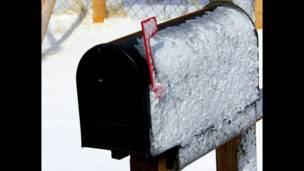 Foto de Hernes Rodríguez, leitor da BBC Mundo, para o tema 'correios'