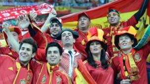 جماهير اسبانية