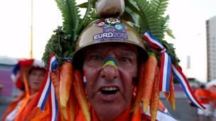 Евро-2012, голландский болельщик. Фото: asarych