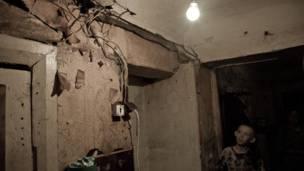 Пермь, улица Советская, полуразрушенный дом. Фото: fotomm