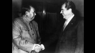 Shugaba Richard Nixon da Jagora Mao Zedong