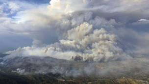 Лесные пожары в Колорадо