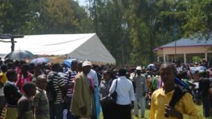 Wasu 'yan Rwanda cikin yanayin jaje