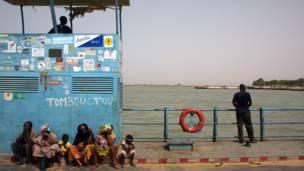 Webiga Niger ee ku dhow Timbuktu