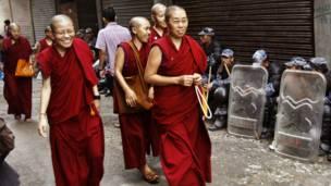 तिब्बती भिक्षुणियां