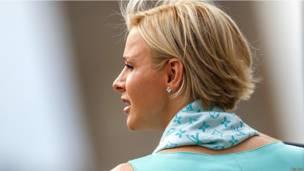 Принцесса Монако Шарлин.