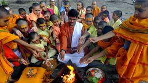 hinduism ritual and culture Welcoming baby birth rituals provide children with sense of community, culture - babymap - publications bringing a new baby home is one of the most exciting.