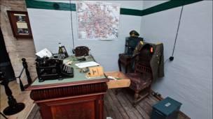 Инсталляция бункера немецкого генерала. Фото и текст: aquatek_filips
