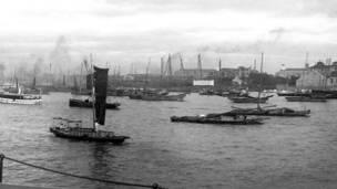 Veleros de la Compañía China de Navegación