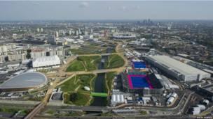 Làng Olympic London 2012