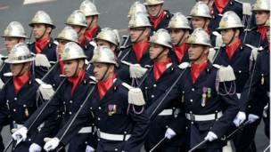 Gần 5.000 nam nữ quân nhân của Pháp đã tham gia vào lễ diễu binh