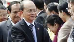 U Thein Sein in Thailand