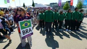 Бразильская олимпийская команда