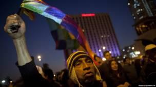 Демонстрация в Лиме