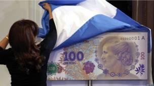 Новая банкнота в Аргентине