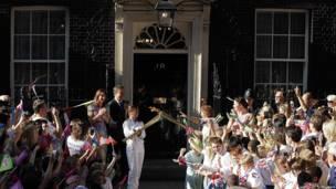 La antorcha en Downing Street