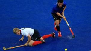 Gran Bretaña vs Argentina en hockey